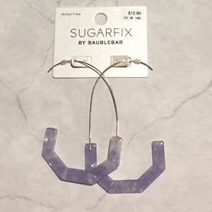 BaubleBar Jewelry - SUGARFIX by BaubleBar Geometric Threader Earrings